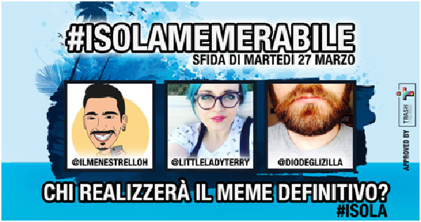 #ISOLAMEMERABILE