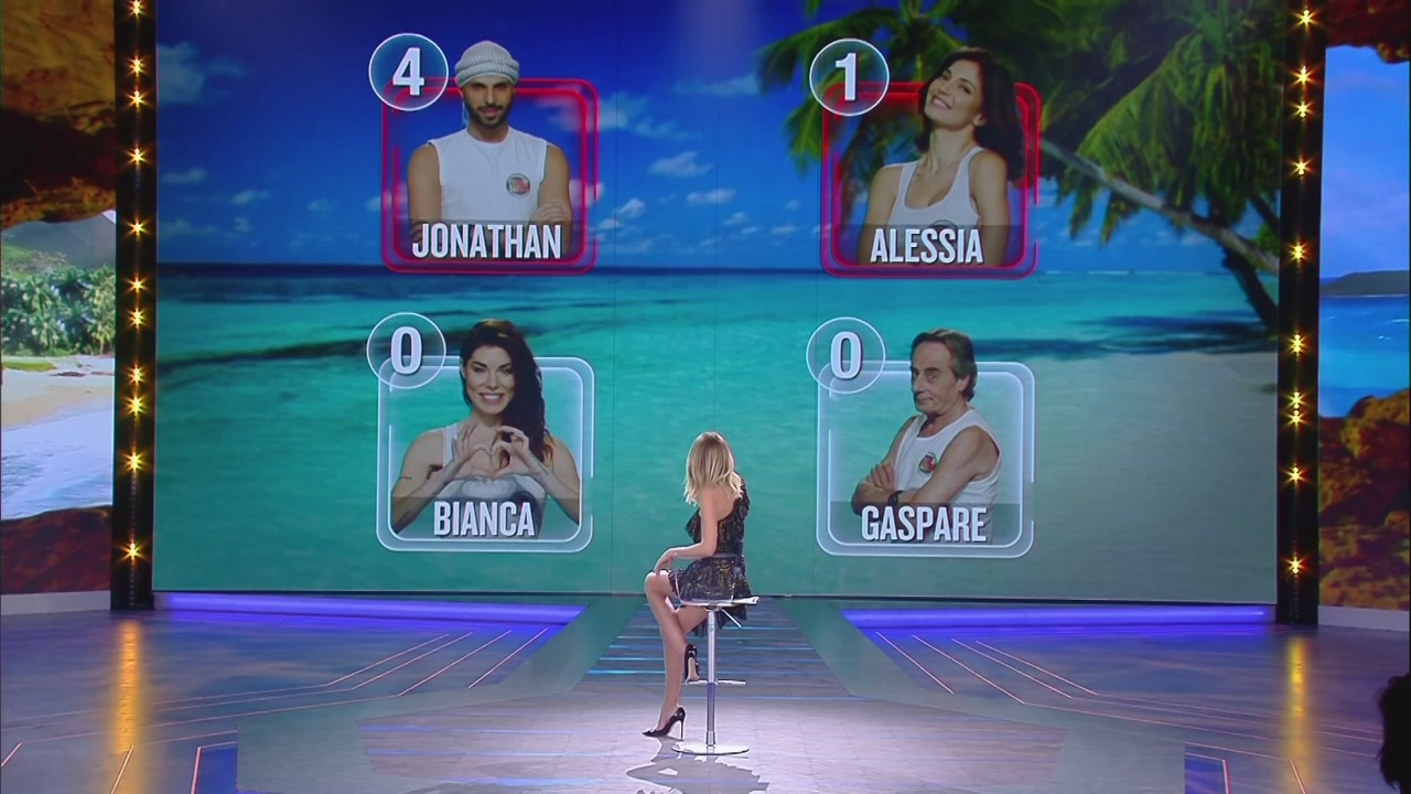 Jonathan e Alessia sono in nomination